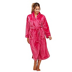 Lounge & Sleep - Bright pink dressing gown