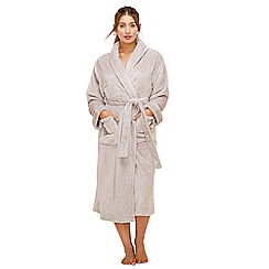 Lounge & Sleep - Grey long dressing gown