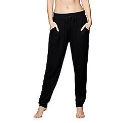 J by Jasper Conran - Black 'Ce Soir' pyjama bottoms