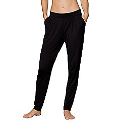 J by Jasper Conran - Black loungewear bottoms