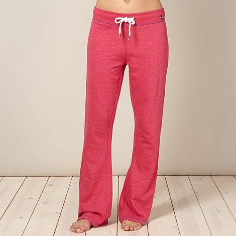 Iris & Edie - Designer pink wide leg pyjama bottoms