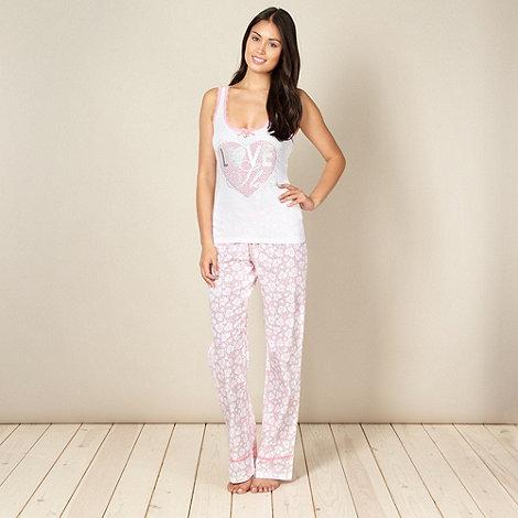 Lipsy - Pink pyjama set