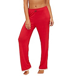 Lounge & Sleep - Red pyjama bottoms