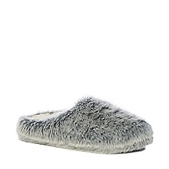 Lounge & Sleep - Grey ombre mule slippers