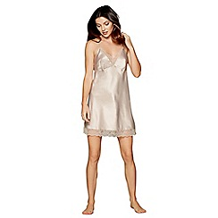 J by Jasper Conran - Gold lace satin chemise