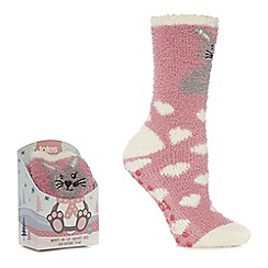 Totes - Pink supersoft novelty socks