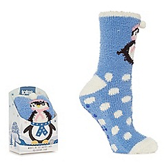 Totes - Blue supersoft novelty socks