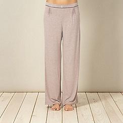 J by Jasper Conran - Designer beige pyjama bottoms