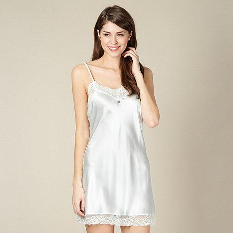 J by Jasper Conran - Designer light blue silk chemise