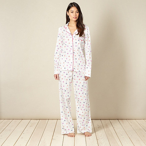 Floozie by Frost French - White flower pyjama set