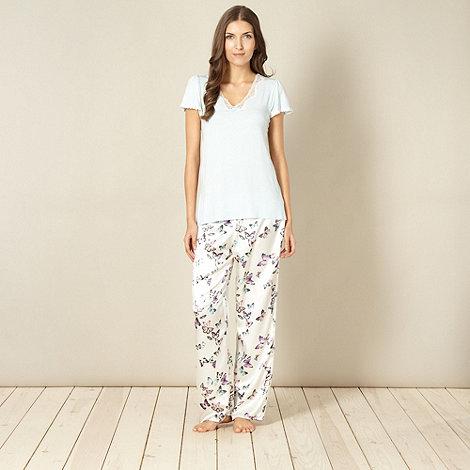 Presence - Aqua butterfly pyjama set