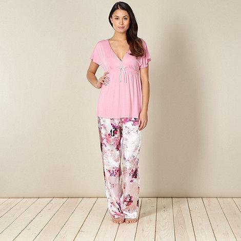 Presence - Pink floral pyjama set