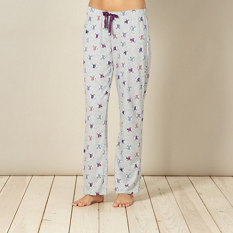 Lounge & Sleep - Grey sheep pyjama bottoms