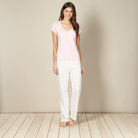 Lounge & Sleep - Pale pink pyjama set