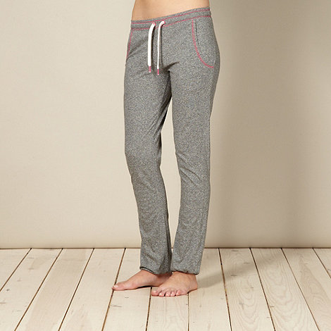 Iris & Edie - Designer grey flecked pyjama bottoms