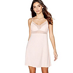 J by Jasper Conran - Pink lace chemise