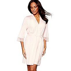 J by Jasper Conran - Light pink marl dressing gown