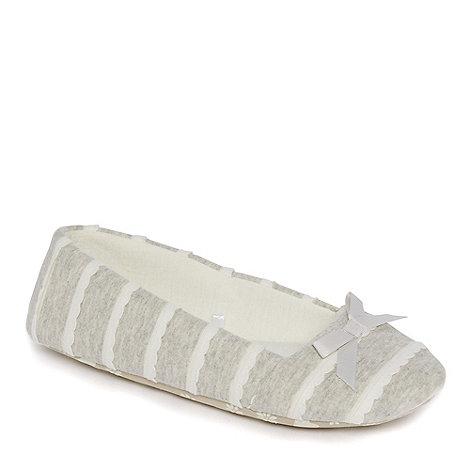 Lounge & Sleep - Grey spot printed onesie