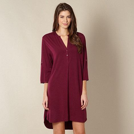 Cyberjammies - Purple knit nightshirt