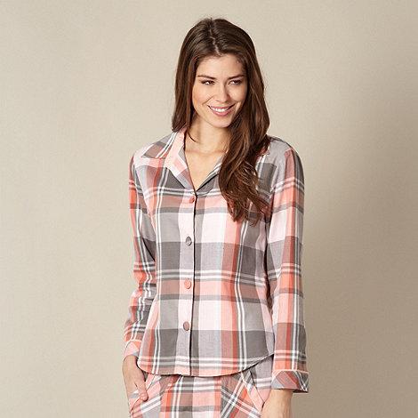 Cyberjammies - Pink checked pyjama top