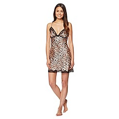 Presence - Natural leopard chemise