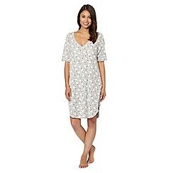 Lounge & Sleep - Grey polar bear print night dress