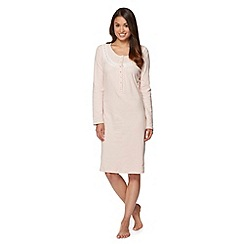 Lounge & Sleep - Pale pink spotted night dress