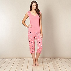 Floozie by Frost French - Pink hot air balloon print pyjama set