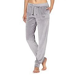 Floozie by Frost French - Grey velour lounge jogging bottoms