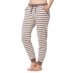 J by Jasper Conran - Designer natural thin striped bottoms