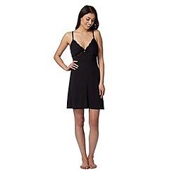 J by Jasper Conran - Designer black padded cup chemise