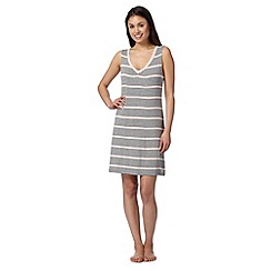 J by Jasper Conran - Designer grey striped chemise