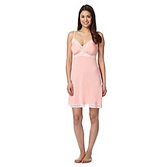 J by Jasper Conran - Designer light peach padded cup chemise