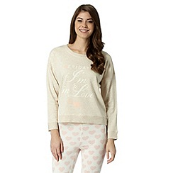 Floozie by Frost French - Natural 'Friday' sweatshirt