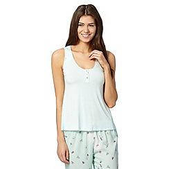 Floozie by Frost French - Pale green bug print pyjama vest