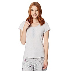 RJR.John Rocha - Designer lilac plain short sleeve pyjama top