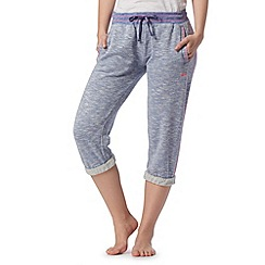 Iris & Edie - Pale blue cropped pyjama bottoms