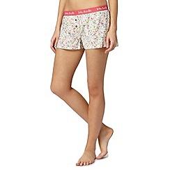Iris & Edie - Pink floral pyjama shorts