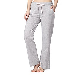 Lounge & Sleep - Grey long pyjama bottoms