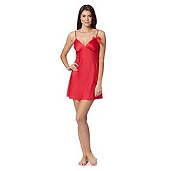 Presence - Red bow chemise