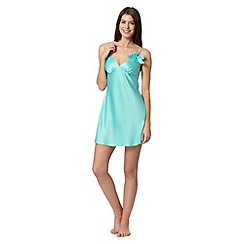 Presence - Pale green bow chemise