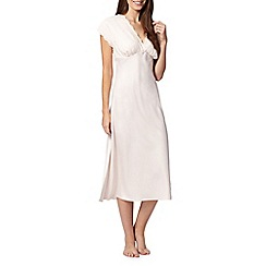 Presence - Ivory lace trim night dress