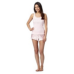 Presence - Pink team bride short set