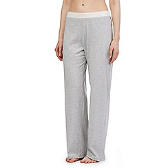 Lounge & Sleep - Petite grey long pyjama bottoms