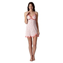 Floozie by Frost French - Light peach padded flamingo chemise
