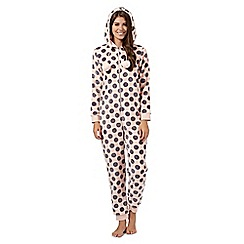 Floozie by Frost French - Pink spotted hooded onesie