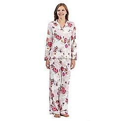 RJR.John Rocha - White floral pyjama set