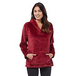 RJR.John Rocha - Red shawl neck pyjama top