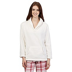 RJR.John Rocha - White fleece pyjama top