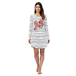 RJR.John Rocha - Cream striped night top